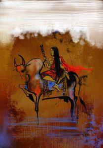 நெடுநிலத்துள் - ஓவியம் : வல்லபாய்